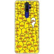 Силиконовый чехол BoxFace OPPO A9 2020 Yellow Ducklings (38524-up2428)