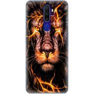 Силиконовый чехол BoxFace OPPO A9 2020 Fire Lion (38524-up2437)