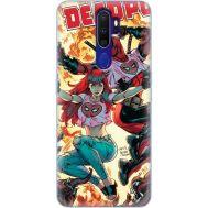 Силиконовый чехол BoxFace OPPO A9 2020 Deadpool and Mary Jane (38524-up2454)