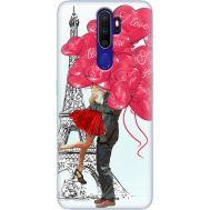 Силиконовый чехол BoxFace OPPO A9 2020 Love in Paris (38524-up2460)