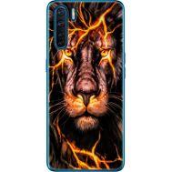 Силиконовый чехол BoxFace OPPO A91 Fire Lion (41576-up2437)