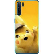 Силиконовый чехол BoxFace OPPO A91 Pikachu (41576-up2440)