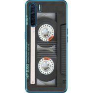 Силиконовый чехол BoxFace OPPO A91 Старая касета (41576-up2445)