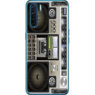 Силиконовый чехол BoxFace OPPO A91 Old Boombox (41576-up2446)