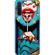 Силиконовый чехол BoxFace OPPO A91 Girl Pop Art (41576-up2444)