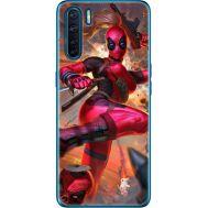 Силиконовый чехол BoxFace OPPO A91 Woman Deadpool (41576-up2453)