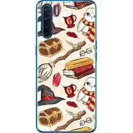 Силиконовый чехол BoxFace OPPO A91 Magic Items (41576-up2455)
