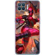 Силиконовый чехол BoxFace OPPO A93 Woman Deadpool (41781-up2453)