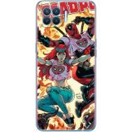 Силиконовый чехол BoxFace OPPO A93 Deadpool and Mary Jane (41781-up2454)