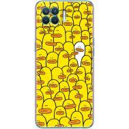 Силиконовый чехол BoxFace OPPO Reno4 Lite Yellow Ducklings (41780-up2428)