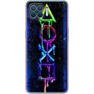 Силиконовый чехол BoxFace OPPO Reno4 Lite Graffiti symbols (41780-up2432)