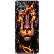 Силиконовый чехол BoxFace OPPO Reno4 Lite Fire Lion (41780-up2437)