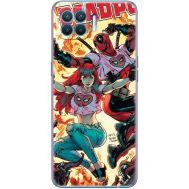 Силиконовый чехол BoxFace OPPO Reno4 Lite Deadpool and Mary Jane (41780-up2454)