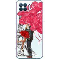 Силиконовый чехол BoxFace OPPO Reno4 Lite Love in Paris (41780-up2460)