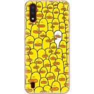 Силиконовый чехол BoxFace Samsung A015 Galaxy A01 Yellow Ducklings (38839-up2428)