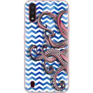 Силиконовый чехол BoxFace Samsung A015 Galaxy A01 Sea Tentacles (38839-up2430)