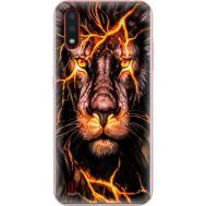 Силиконовый чехол BoxFace Samsung A015 Galaxy A01 Fire Lion (38839-up2437)
