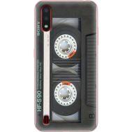 Силиконовый чехол BoxFace Samsung A015 Galaxy A01 Старая касета (38839-up2445)