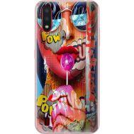 Силиконовый чехол BoxFace Samsung A015 Galaxy A01 Colorful Girl (38839-up2443)