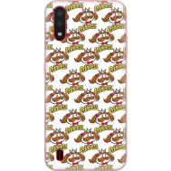 Силиконовый чехол BoxFace Samsung A015 Galaxy A01 Pringles Princess (38839-up2450)