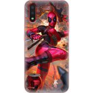 Силиконовый чехол BoxFace Samsung A015 Galaxy A01 Woman Deadpool (38839-up2453)