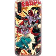 Силиконовый чехол BoxFace Samsung A015 Galaxy A01 Deadpool and Mary Jane (38839-up2454)