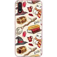 Силиконовый чехол BoxFace Samsung A015 Galaxy A01 Magic Items (38839-up2455)