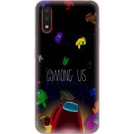 Силиконовый чехол BoxFace Samsung A015 Galaxy A01 Among Us (38839-up2456)