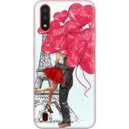 Силиконовый чехол BoxFace Samsung A015 Galaxy A01 Love in Paris (38839-up2460)