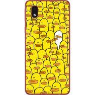 Силиконовый чехол BoxFace Samsung A013 Galaxy A01 Core Yellow Ducklings (40875-up2428)