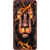 Силиконовый чехол BoxFace Samsung A013 Galaxy A01 Core Fire Lion (40875-up2437)