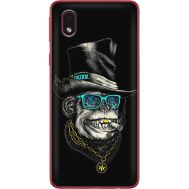 Силиконовый чехол BoxFace Samsung A013 Galaxy A01 Core Rich Monkey (40875-up2438)