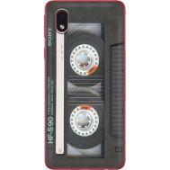 Силиконовый чехол BoxFace Samsung A013 Galaxy A01 Core Старая касета (40875-up2445)