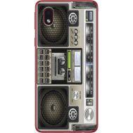 Силиконовый чехол BoxFace Samsung A013 Galaxy A01 Core Old Boombox (40875-up2446)