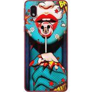 Силиконовый чехол BoxFace Samsung A013 Galaxy A01 Core Girl Pop Art (40875-up2444)