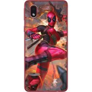 Силиконовый чехол BoxFace Samsung A013 Galaxy A01 Core Woman Deadpool (40875-up2453)