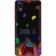 Силиконовый чехол BoxFace Samsung A013 Galaxy A01 Core Among Us (40875-up2456)