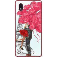 Силиконовый чехол BoxFace Samsung A013 Galaxy A01 Core Love in Paris (40875-up2460)