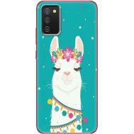 Силиконовый чехол BoxFace Samsung A025 Galaxy A02S Cold Llama (41511-up2435)