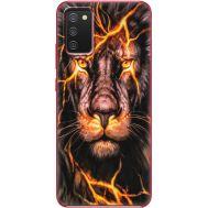 Силиконовый чехол BoxFace Samsung A025 Galaxy A02S Fire Lion (41511-up2437)