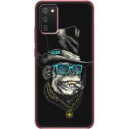 Силиконовый чехол BoxFace Samsung A025 Galaxy A02S Rich Monkey (41511-up2438)