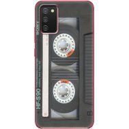 Силиконовый чехол BoxFace Samsung A025 Galaxy A02S Старая касета (41511-up2445)