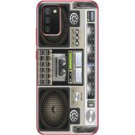 Силиконовый чехол BoxFace Samsung A025 Galaxy A02S Old Boombox (41511-up2446)