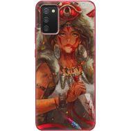 Силиконовый чехол BoxFace Samsung A025 Galaxy A02S Принцесса Мононоке (41511-up2451)