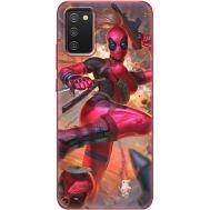 Силиконовый чехол BoxFace Samsung A025 Galaxy A02S Woman Deadpool (41511-up2453)