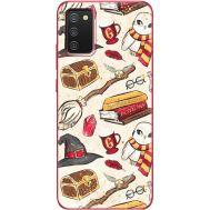 Силиконовый чехол BoxFace Samsung A025 Galaxy A02S Magic Items (41511-up2455)