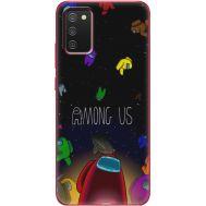 Силиконовый чехол BoxFace Samsung A025 Galaxy A02S Among Us (41511-up2456)