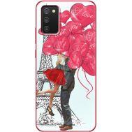 Силиконовый чехол BoxFace Samsung A025 Galaxy A02S Love in Paris (41511-up2460)