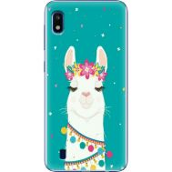 Силиконовый чехол BoxFace Samsung A105 Galaxy A10 Cold Llama (36867-up2435)