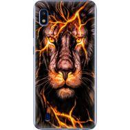Силиконовый чехол BoxFace Samsung A105 Galaxy A10 Fire Lion (36867-up2437)